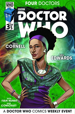 Doctor Who: Four Doctors #3 (25 Copy Incentive Cover)