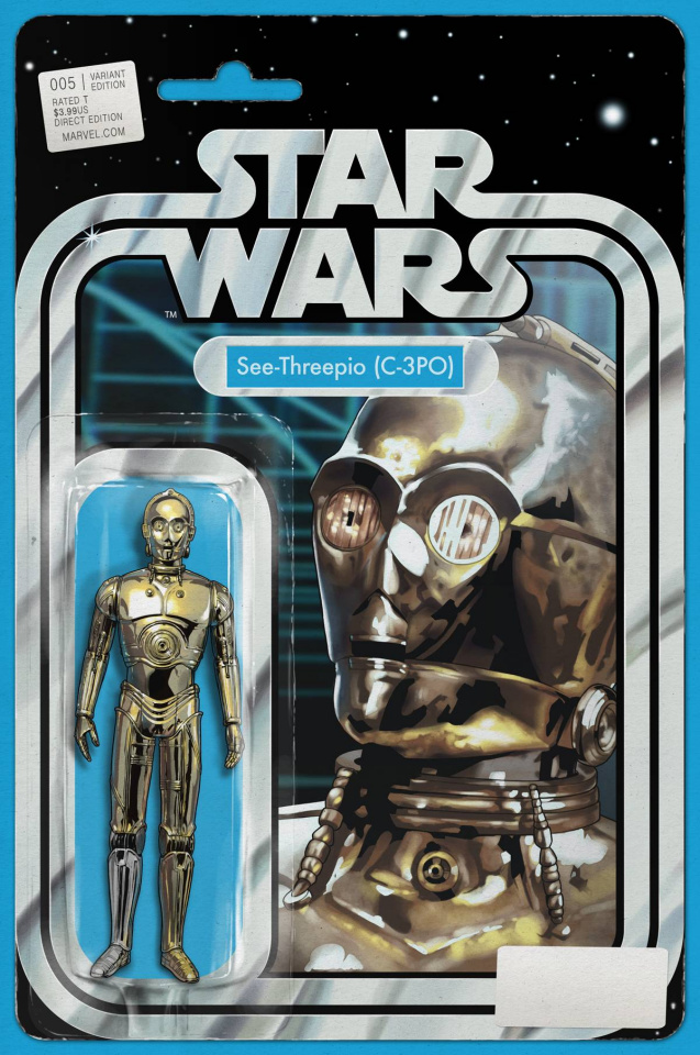 Star Wars #5 (Christopher Action Figure Cover)