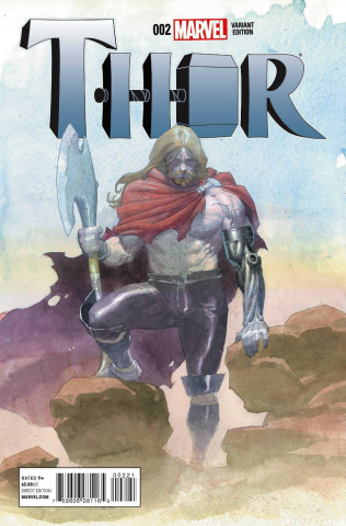 Thor #2 (Ribic Design Cover)