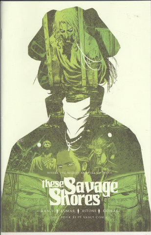 These Savage Shores #4 (2nd Printing)