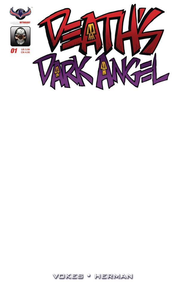 Death's Dark Angel (Vokes Blank Sketch Cover)