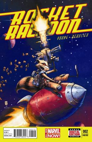 Rocket Raccoon #2 (3rd Printing)