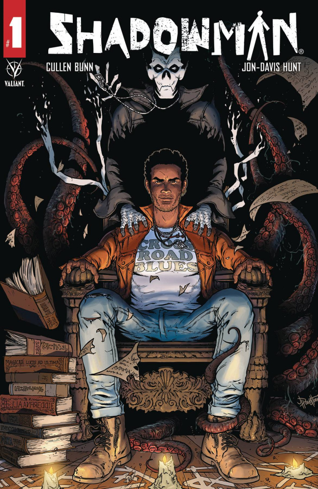 Shadowman #1 (Davis-Hunt Cover)