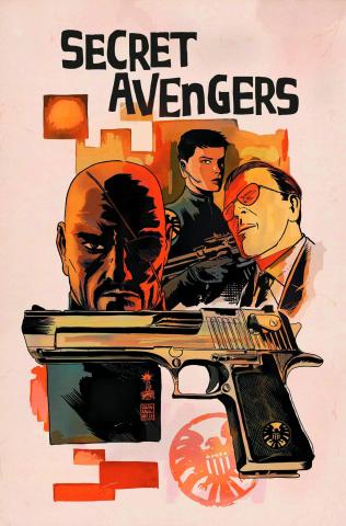 Secret Avengers #5 (Francavilla Cover)