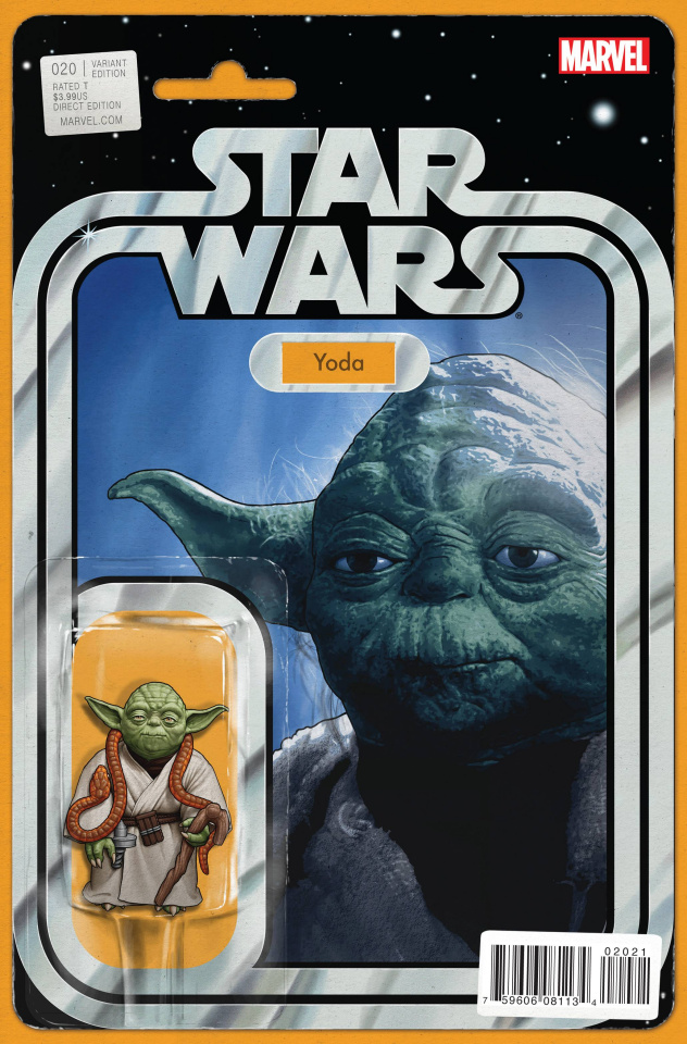 Star Wars #20 (Christopher Action Figure Cover)