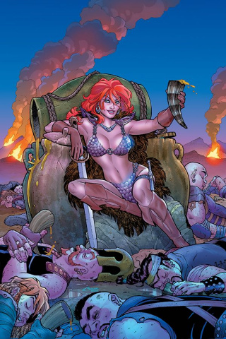 Red Sonja #3 (Conner Virgin Cover)