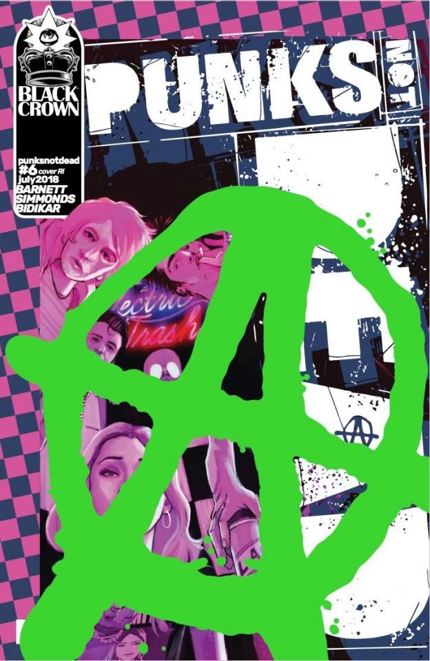 Punk's Not Dead #6 (10 Copy Simmonds Cover)