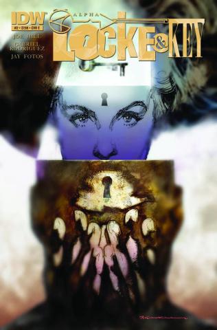 Locke & Key: Alpha #2 (Sienkiewicz Cover)