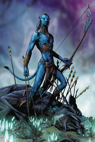 Avatar: Tsu Tey's Path #1 (Wheatley Cover)