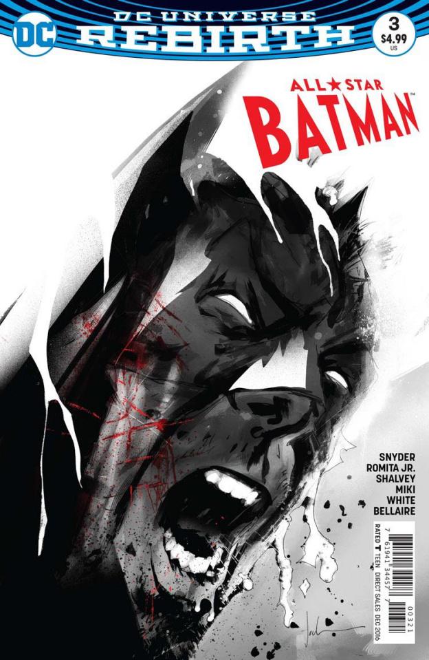 All-Star Batman #3 (Jock Cover)