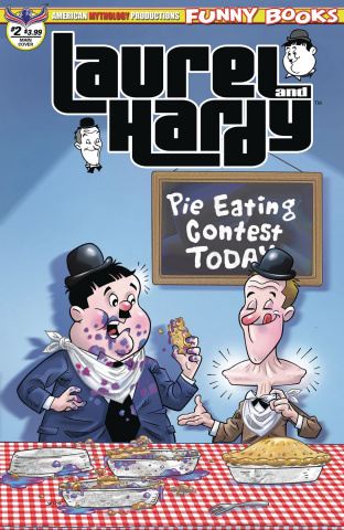 Laurel and Hardy #2 (Pacheco Cover)