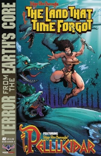The Land That Time Forgot: From Earth's Core #2 (Connecting Cover A)