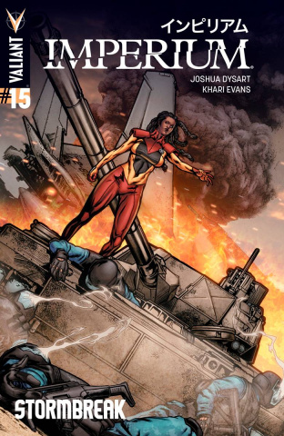 Imperium #15 (Evans Cover)