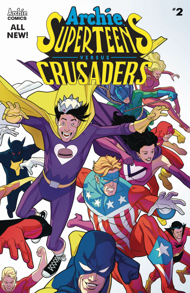 Archie's Superteens vs. Crusaders #2 (Williams Cover)