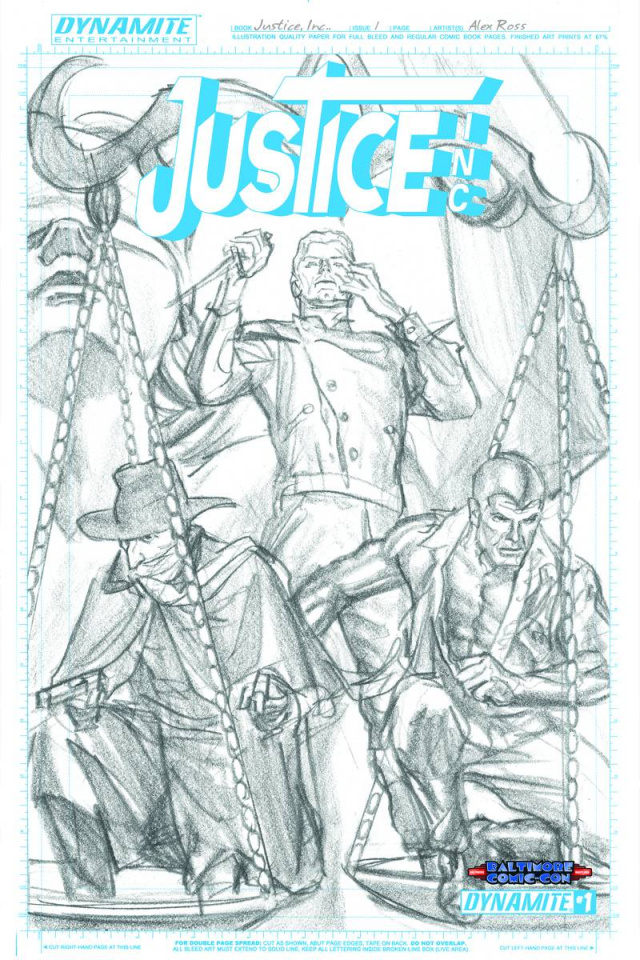 Justice #1 (BCC Artboard Ross Cover)