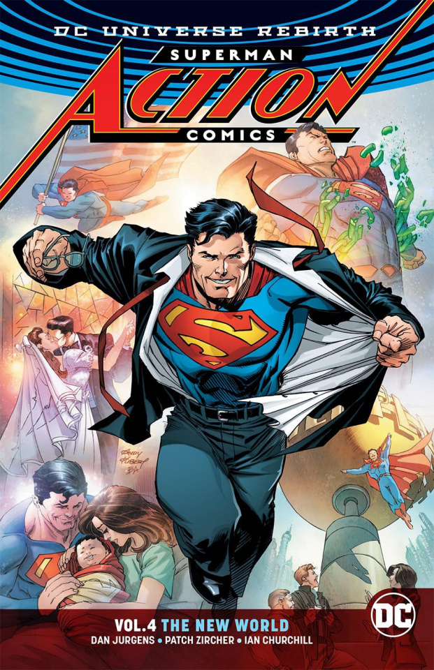 Action Comics Vol. 4: The New World (Rebirth)