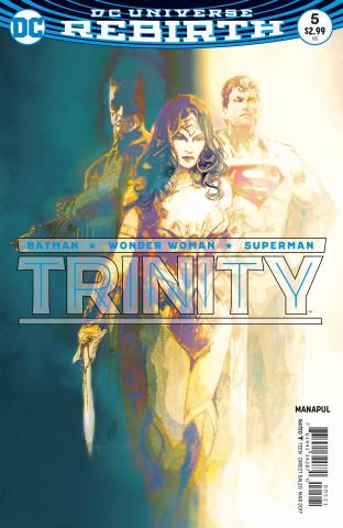 Trinity #5 (Variant Cover)