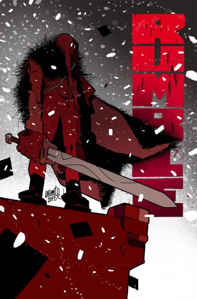 Rumble #8 (Lafuente Cover)