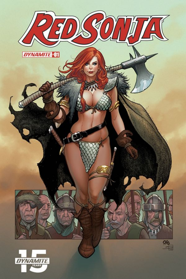 Red Sonja #1 (Cho Cover)