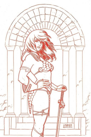 Red Sonja #22 (30 Copy Linsner Tint Virgin Cover)