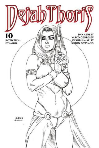 Dejah Thoris #10 (20 Copy Linsner B&W Cover)