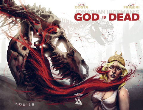 God Is Dead #28 (Carnage Wrap Cover)