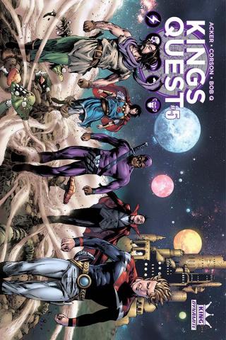 Kings Quest #5 (Lau Cover)