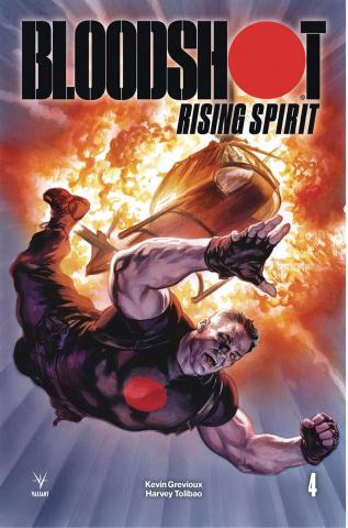 Bloodshot: Rising Spirit #4 (Massafera Cover)