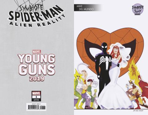 Symbiote Spider-Man: Alien Reality #1 (Del Mundo Young Guns Cover)