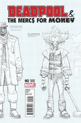 Deadpool and the Mercs For Money #2 (Lim Cover)
