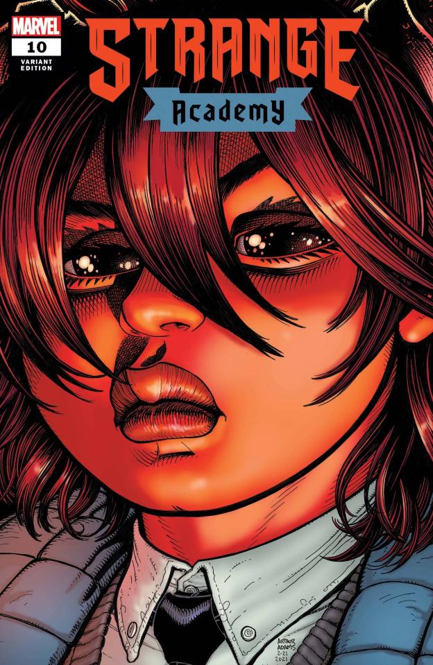 Strange Academy #10 (Art Adams Character Spotlight Cover)