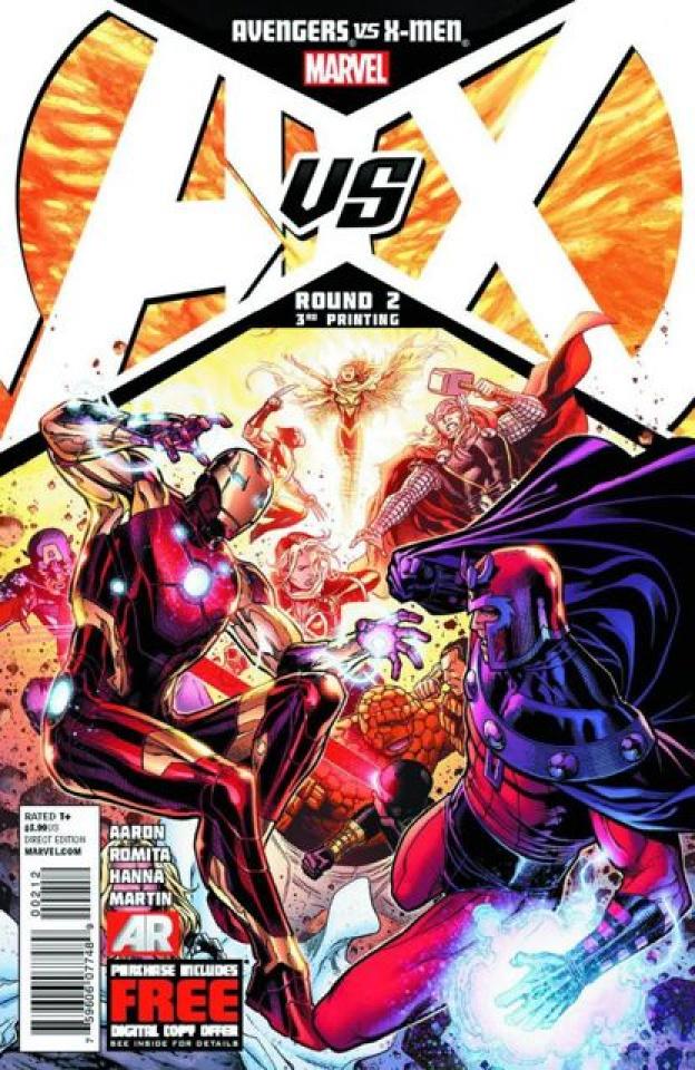 Avengers vs. X-Men #2 (3rd Printing)