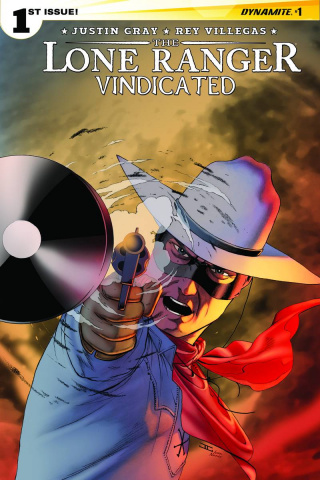 The Lone Ranger: Vindicated #1 (Cassaday Cover)