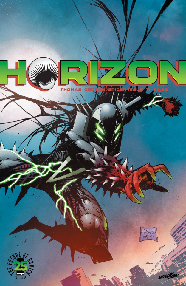 Horizon #11 (Spawn Month Cover)