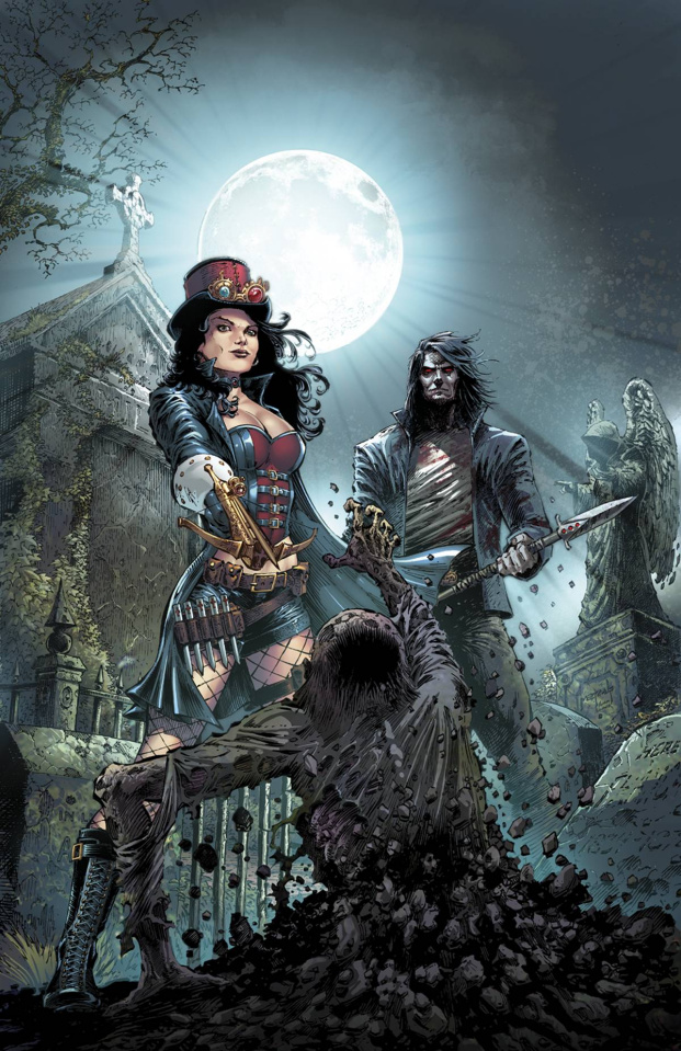 Grimm Fairy Tales: Hellchild #1 (Metcalf Cover)