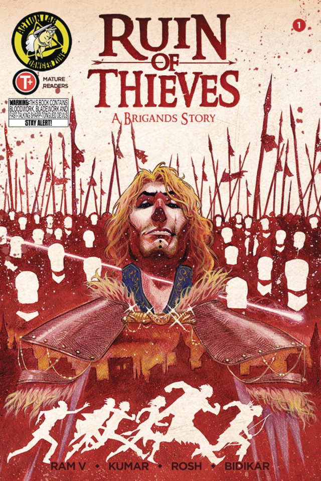 Ruin of Thieves: A Brigand's Story #1 (Trakhanov Cover)
