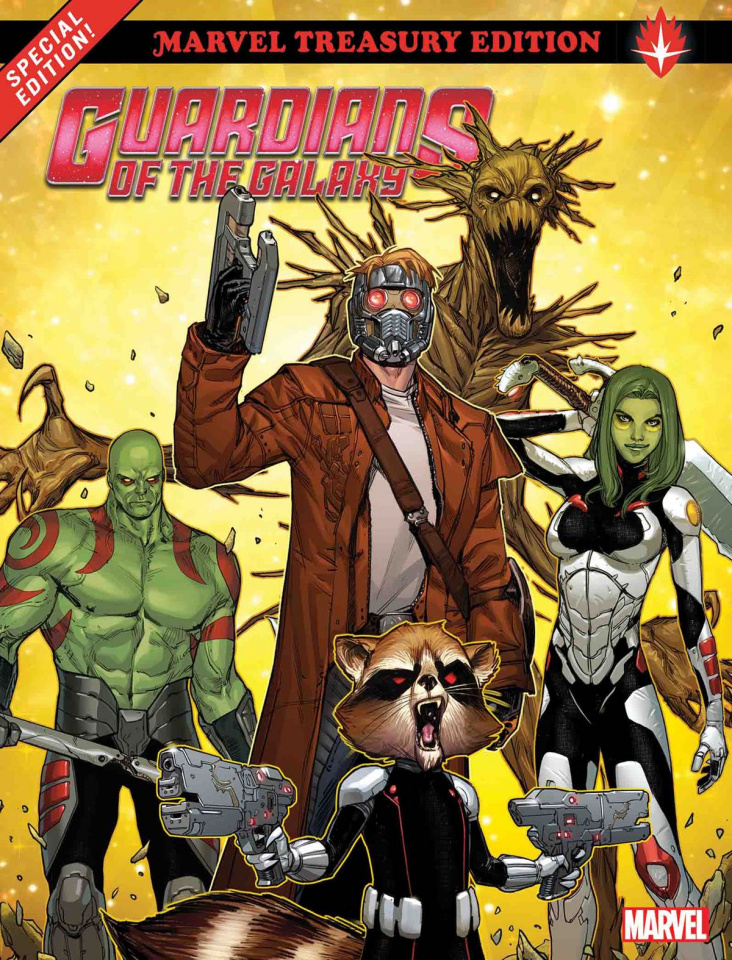 Guardians of the Galaxy All-New Marvel Treasury Edition