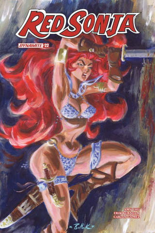 Red Sonja #22 (Bullock Cover)