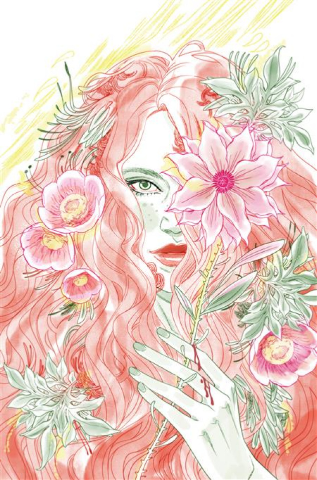 Gotham City Villains: Anniversary Giant #1 (Marguerite Sauvage Poison Ivy Card Stock Cover)