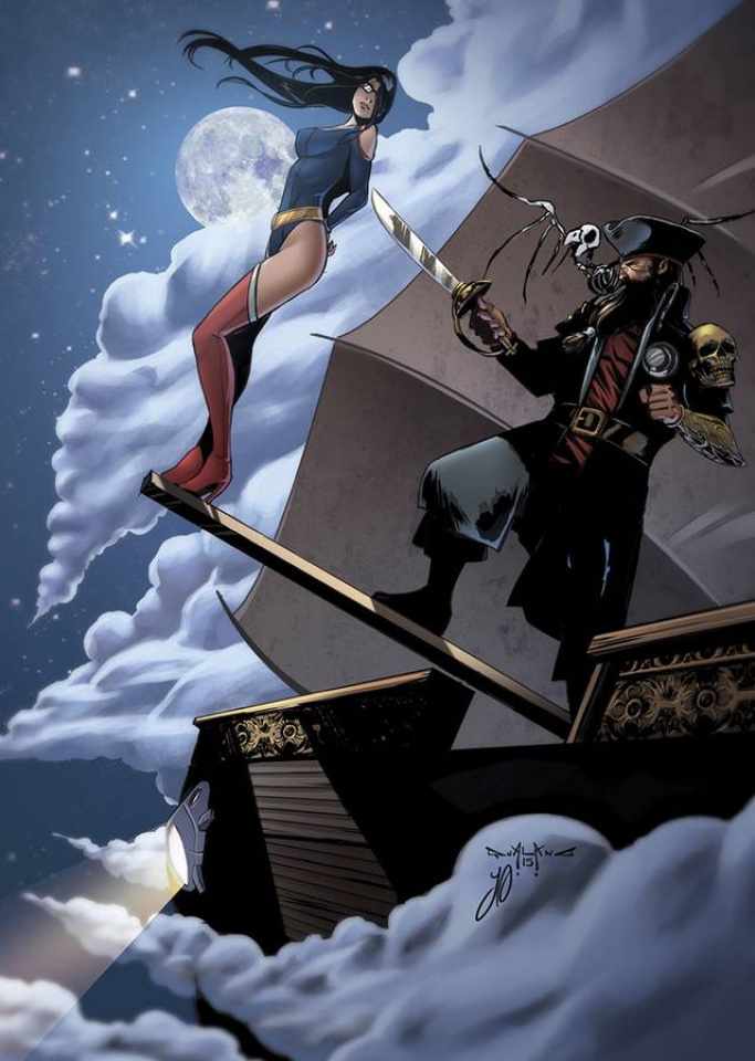 Grimm Fairy Tales: Realm Knights Giant Size Edition (Qualano Cover)