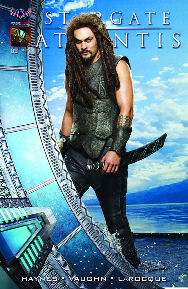 Stargate Atlantis: Gateways #1 (Ronon Photo Cover)