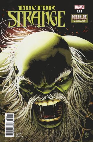 Doctor Strange #385 (Deodato Jr. Hulk Cover)