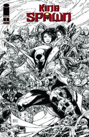King Spawn #1 (2nd Printing)