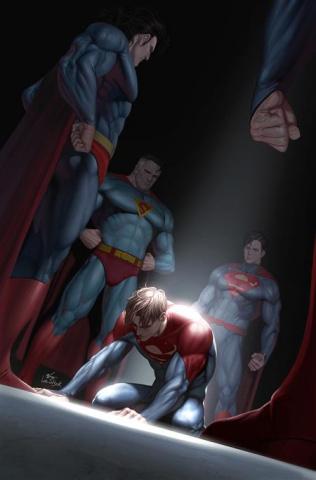 Future State: Superman of Metropolis #2 (Inhyuk Lee Card Stock Cover)