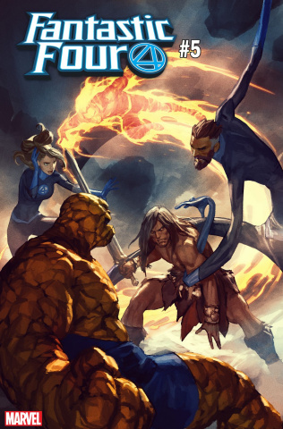 Fantastic Four #5 (Parel Conan Cover)