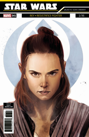 Star Wars #41 (Reis Galactic Icon Cover)