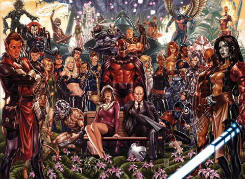 House of X / Powers of X (Brooks Cover)