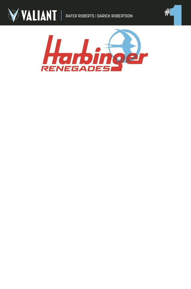 Harbinger: Renegade #1 (Blank Cover)