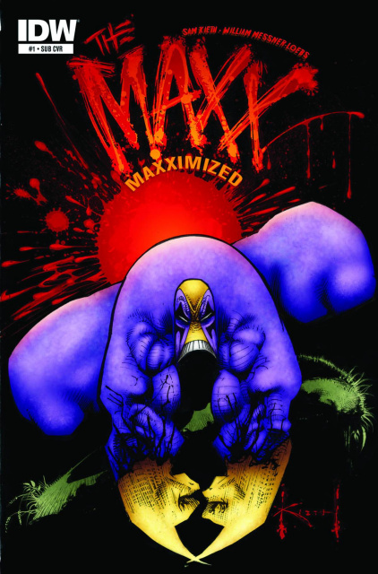 The Maxx: Maxximized #1 (Subscription Cover)