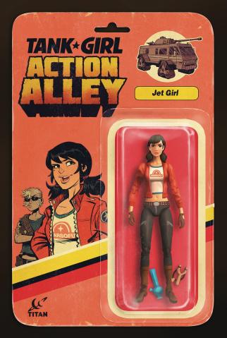 Tank Girl #4 (Jet Girl Action Figure Cover)